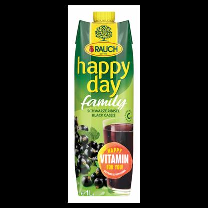 Kép Rauch Happy Day feketeribizli nektár sűrítményből, C-vitaminnal 1 l