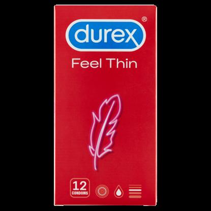 Kép Durex Feel Thin óvszer 12 db