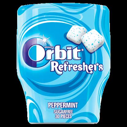 Kép Orbit Refreshers menta- és mentolízű cukormentes rágógumi édesítőszerrel 67 g