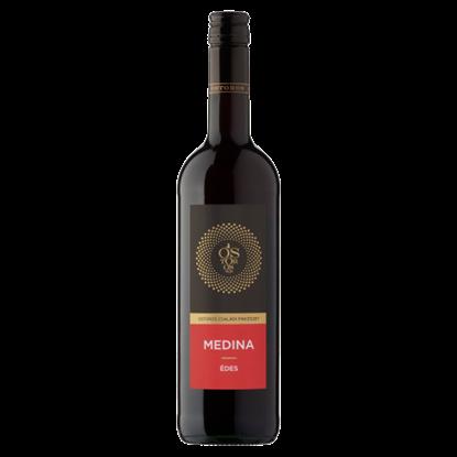Kép Ostorosbor Felső-Magyarországi Medina édes vörösbor 11,5% 750 ml