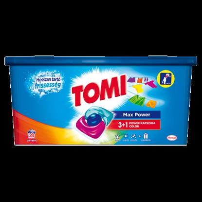 Kép  Tomi 3+1 Power mosókapszula Color 28 mosás