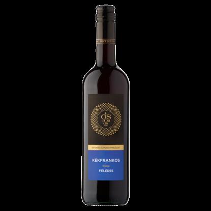 Kép Ostorosbor Felső-Magyarországi Kékfrankos félédes vörösbor 12% 750 ml