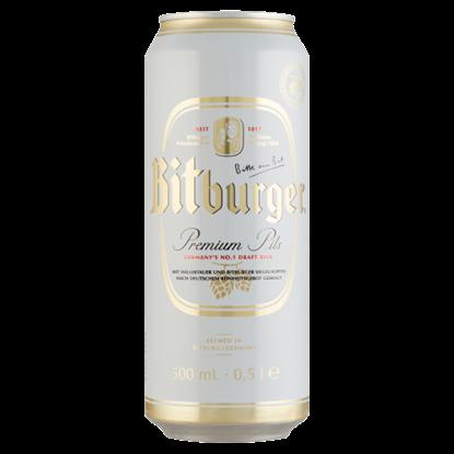 Kép Bitburger Premium Pils világos német sör 4,8% 0,5 l