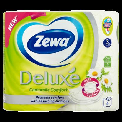 Kép Zewa Deluxe Camomile Comfort toalettpapír 3 rétegű 4 tekercs