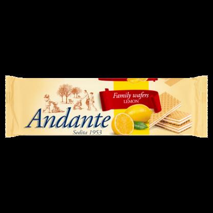 Kép Andante citromos krémmel töltött ostya 130 g