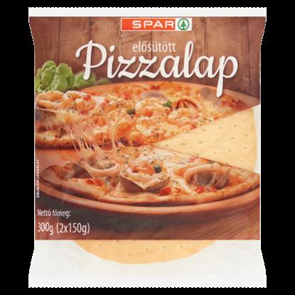 Kép SPAR elősütött pizzalap 2 db 300 g
