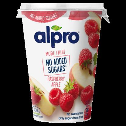 Kép ALPRO almás-málnás szójagurt joghurt kultúrával 400 g