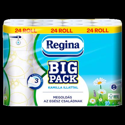 Kép Regina Big Pack Kamilla toalettpapír 3 rétegű 24 tekercs